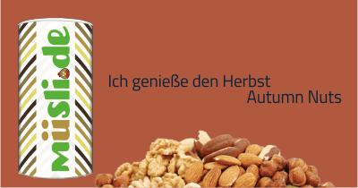 Infobild des Müslis Autumn Nuts von müsli.de