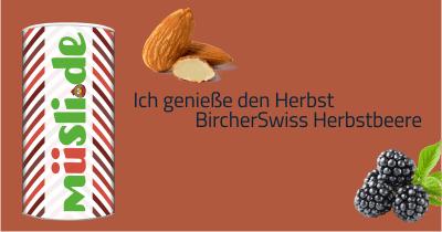 Infobild des Müslis Bircher Swiss Herbstbeere von müsli.de