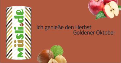 Infobild des Müslis Goldener Oktober von müsli.de