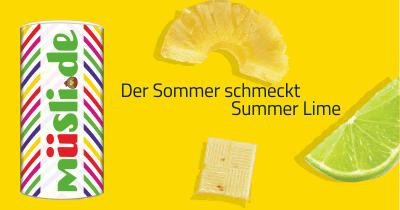 Infobild des Müslis Summer Lime von müsli.de