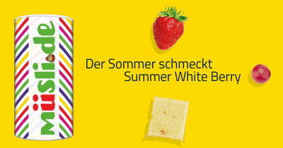 Infobild des Müslis Summer White Berry von müsli.de